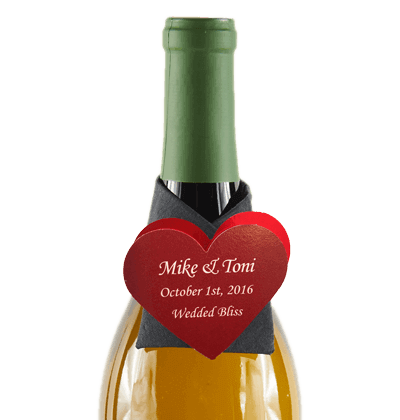 custom made wine snazzies