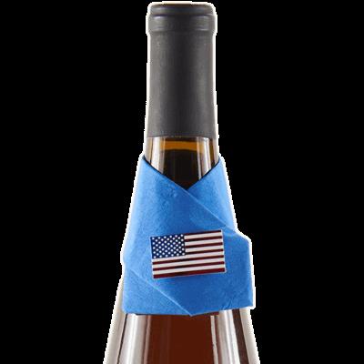 american flag wine snazzie