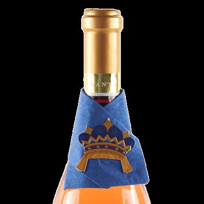 mardi gras wine snazzie